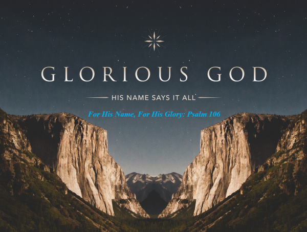 For His Name, For His Glory