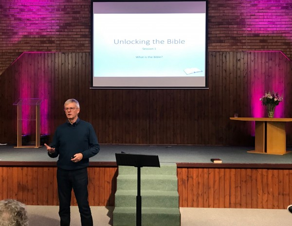 Unlocking the Bible: What is the Bible? (Session 1) Mike Smith