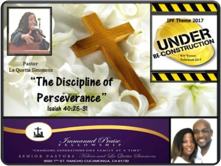 the-discipline-of-perseveranceThe Discipline of Perseverance