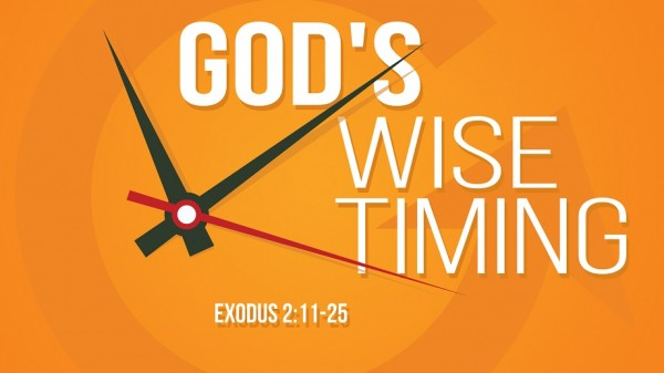 God's Wise Timing
