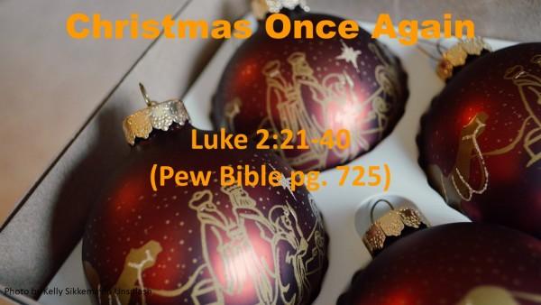 christmas-once-againChristmas Once Again