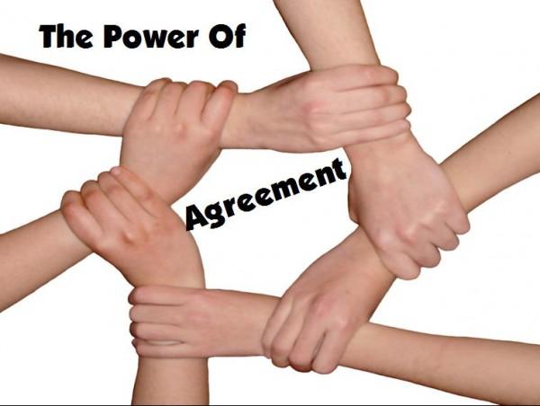 the-power-of-agreementThe Power Of Agreement