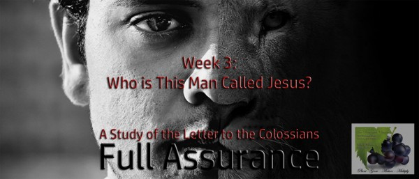 part-3-who-is-this-man-called-jesusPart 3 - Who is This Man Called Jesus