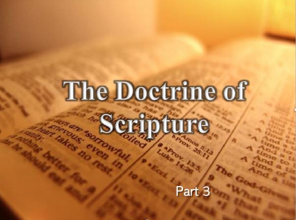 Basic Doctrine 1 part 4