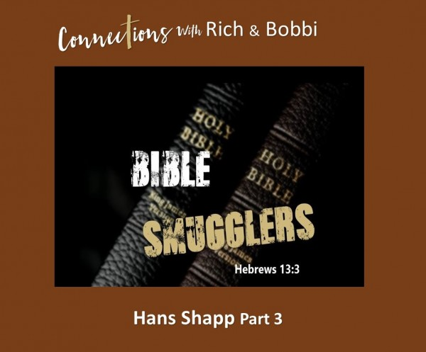 """""""Before the change, we smuggled Bibles and books to secret believers and churches there"""" Hans Shapp Part 3"""