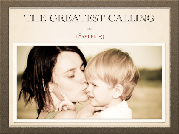 The Greatest Calling