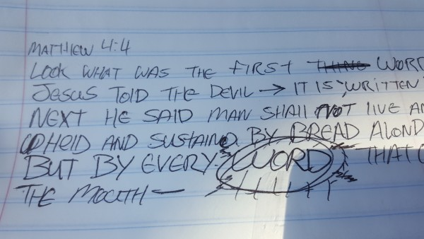 trusting-the-word-of-godtrusting the word of God