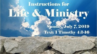 instructions-for-life-and-ministryInstructions for Life and Ministry