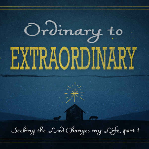 OE3 Seeking the Lord Changes my Life, part 1