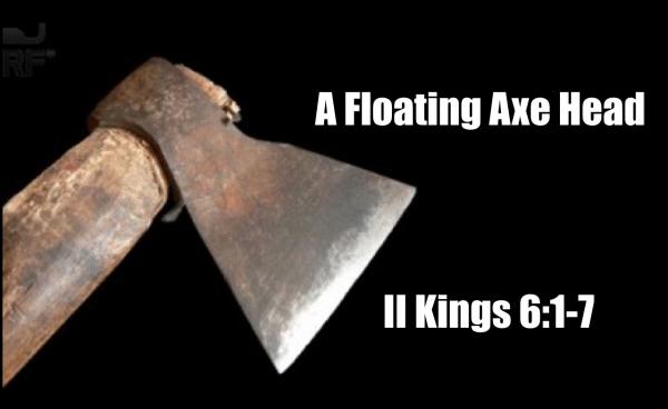 A Floating Axe Head