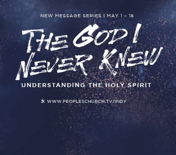 Who is the Holy Spirit? - The God I Never Knew - 5/1/16 Podcast