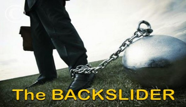 the-backsliderThe Backslider