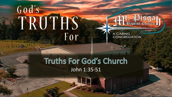 Truth's For God's Church - Part 2