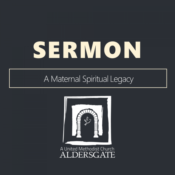 A Maternal Spiritual Legacy