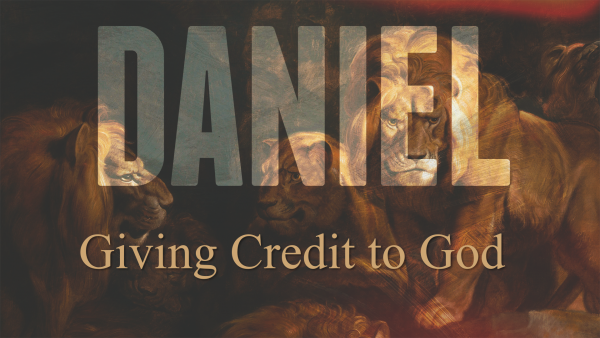 Giving Credit to God