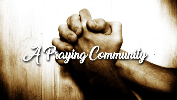 a-praying-communityA Praying Community