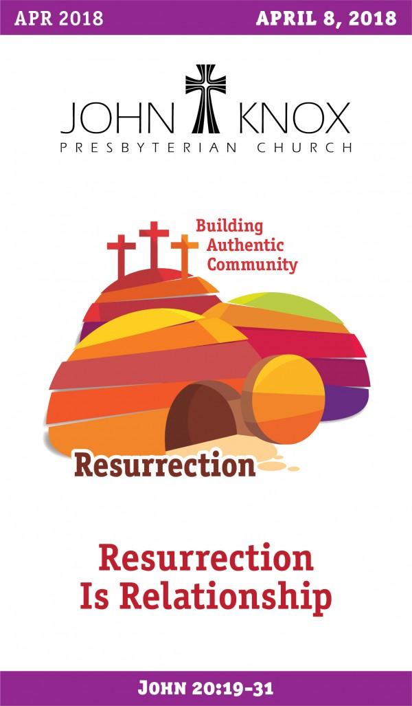 4818-resurrection-is-relationship4.8.18 Resurrection Is Relationship