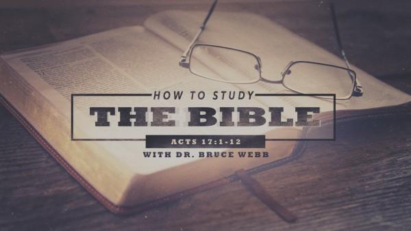 how-to-study-the-bibleHow to Study The Bible