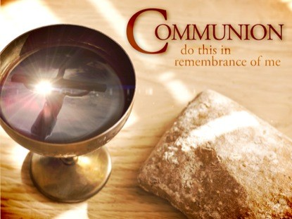 Communion at Mt Pisgah