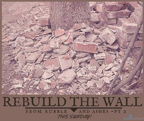Rebuilding the Walls part 3