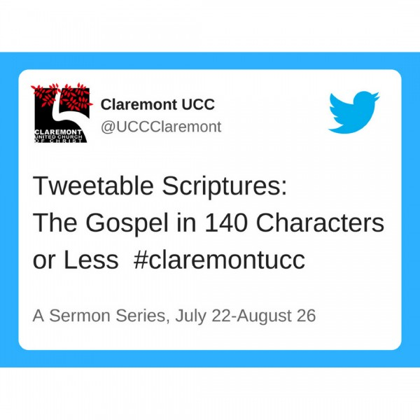 Tweetable Scriptures: The Vine