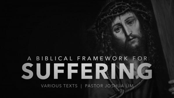 a-biblical-framework-for-sufferingA Biblical Framework for Suffering