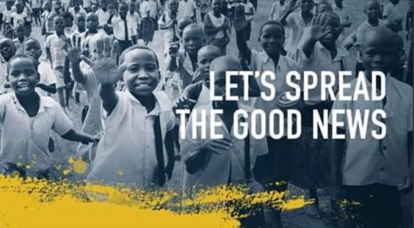 lets-spread-the-good-newsLet's spread the Good News