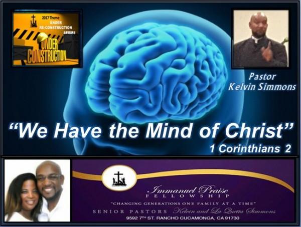 We Have the Mind of God
