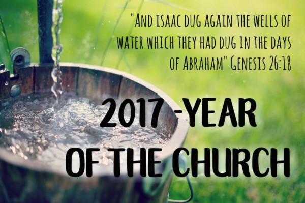 2017- Year of the Church - Jan 8th, 2017