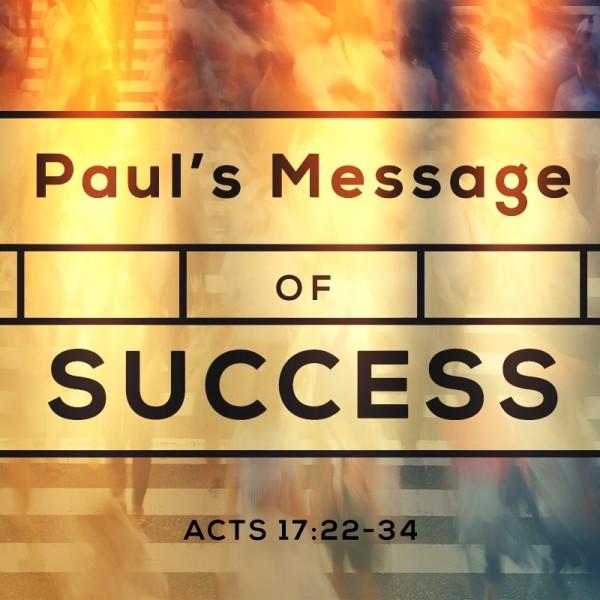 SERMON: Paul's Message of Success