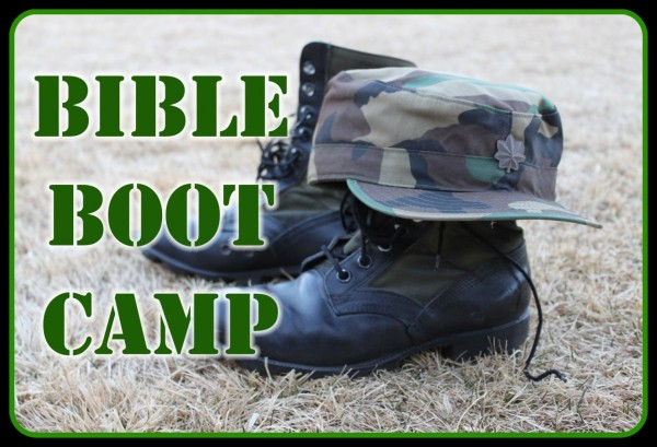 "Bible Boot Camp ""Choosing The Side Where You Stand"""
