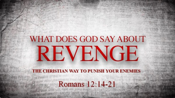What does God say about Revenge