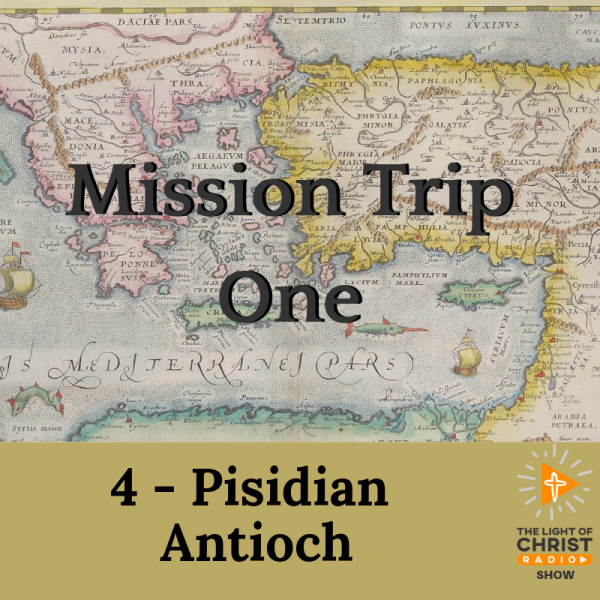 To Pisidian Antioch