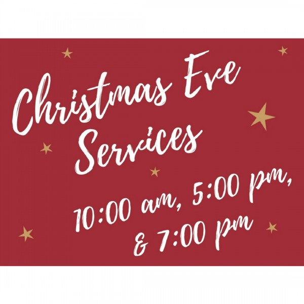 Christmas Eve Candlelight Services, 2017