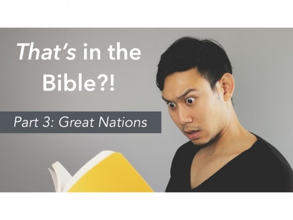 That's in the Bible?! Part 3: Great Nations with Imam Hadi Qazwini and Pastor Jacob