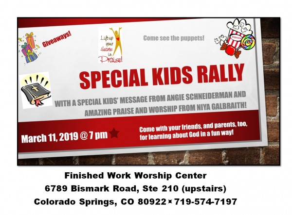 Special Kids Rally With Angie & Niya