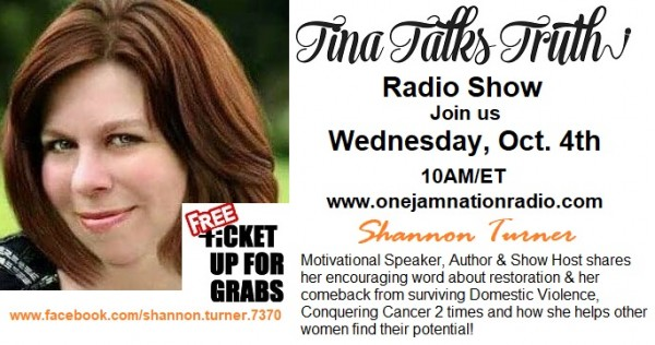 tina-talks-truth-radio-show-interview-with-shannon-turner-speaker-author-show-hostTina Talks Truth Radio Show interview with Shannon Turner-Speaker, Author & Show Host