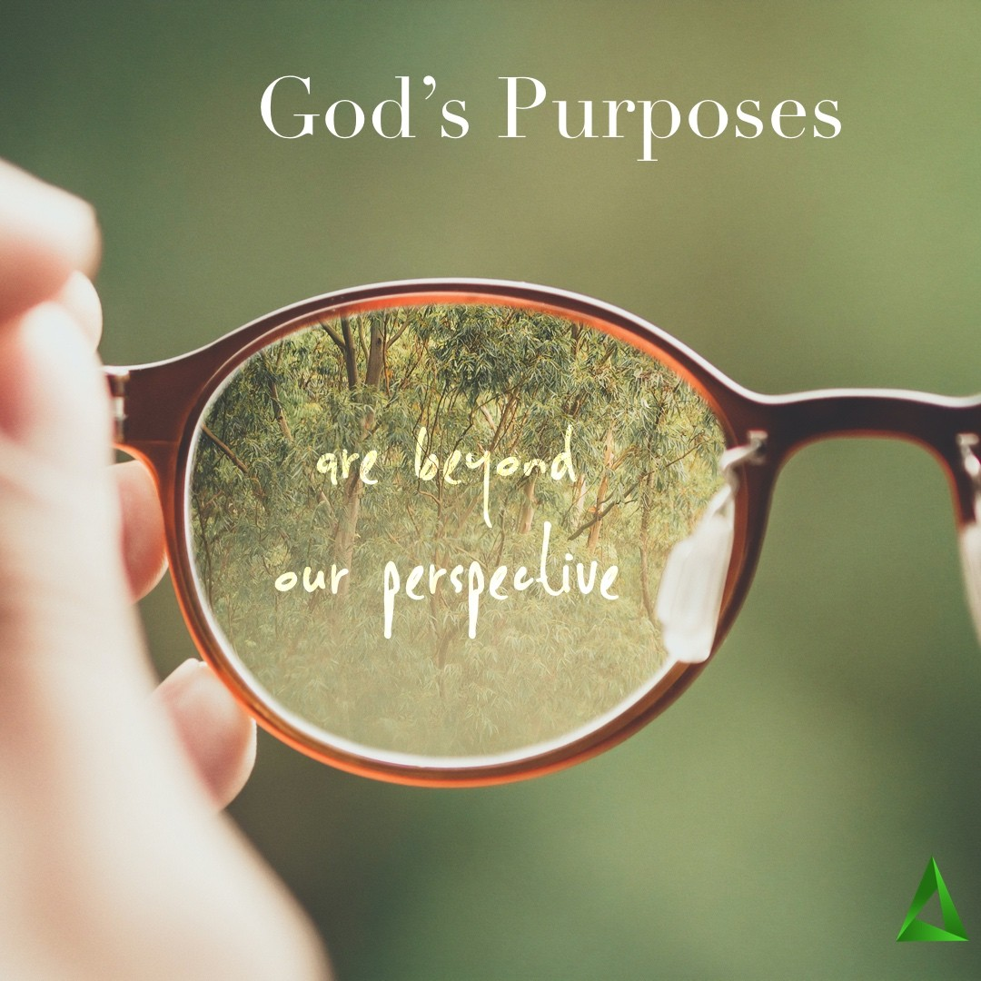 God'€™s Purposes Are Beyond Our Perspectives