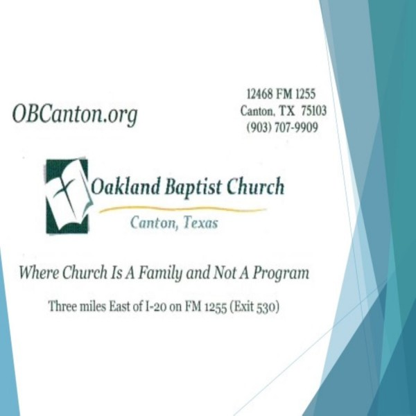 Oakland Baptist Church Sermons